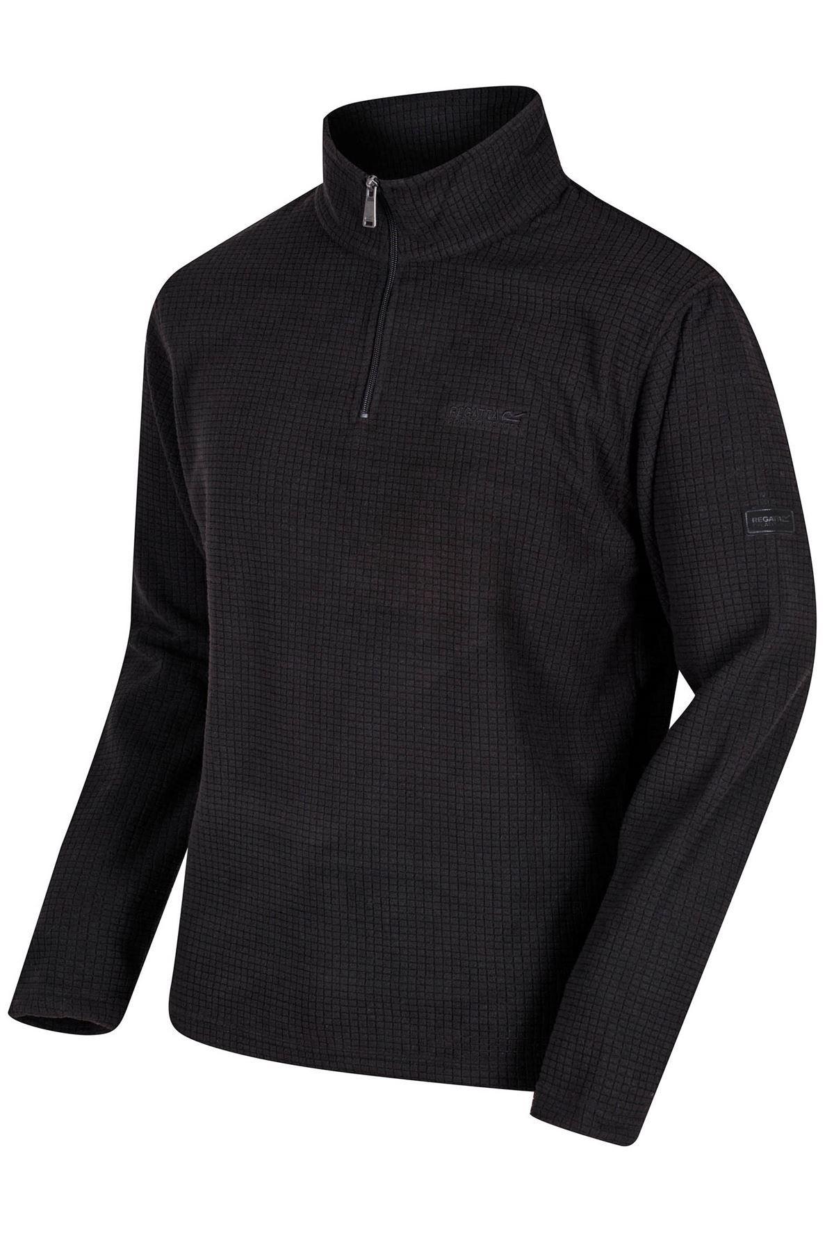 REGATTA-Mens-Half-Zip-Neck-Grid-Textured-Fleece-RRP-30 thumbnail 12