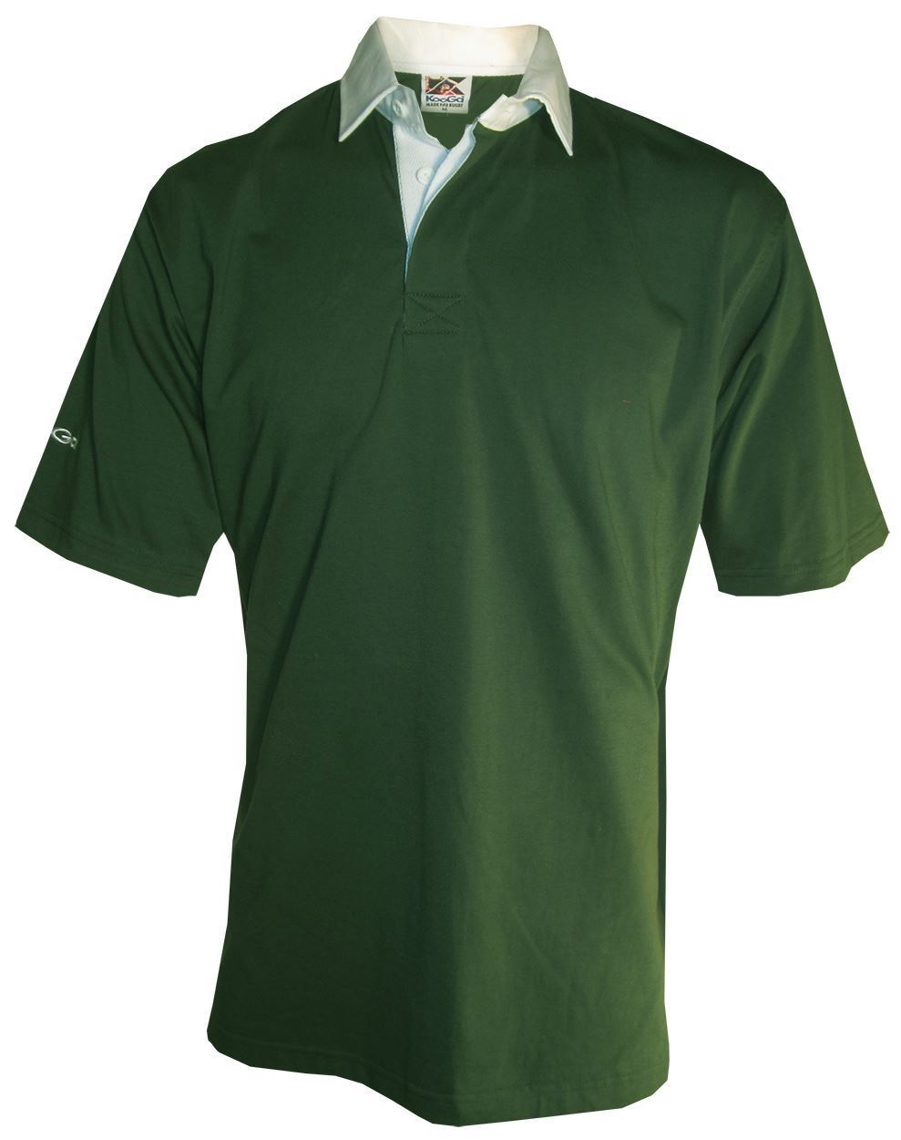 NEW-Kooga-Mens-Polo-Rugby-Shirt-Top-in-Red-or-Green-Size-S-amp-XL thumbnail 3