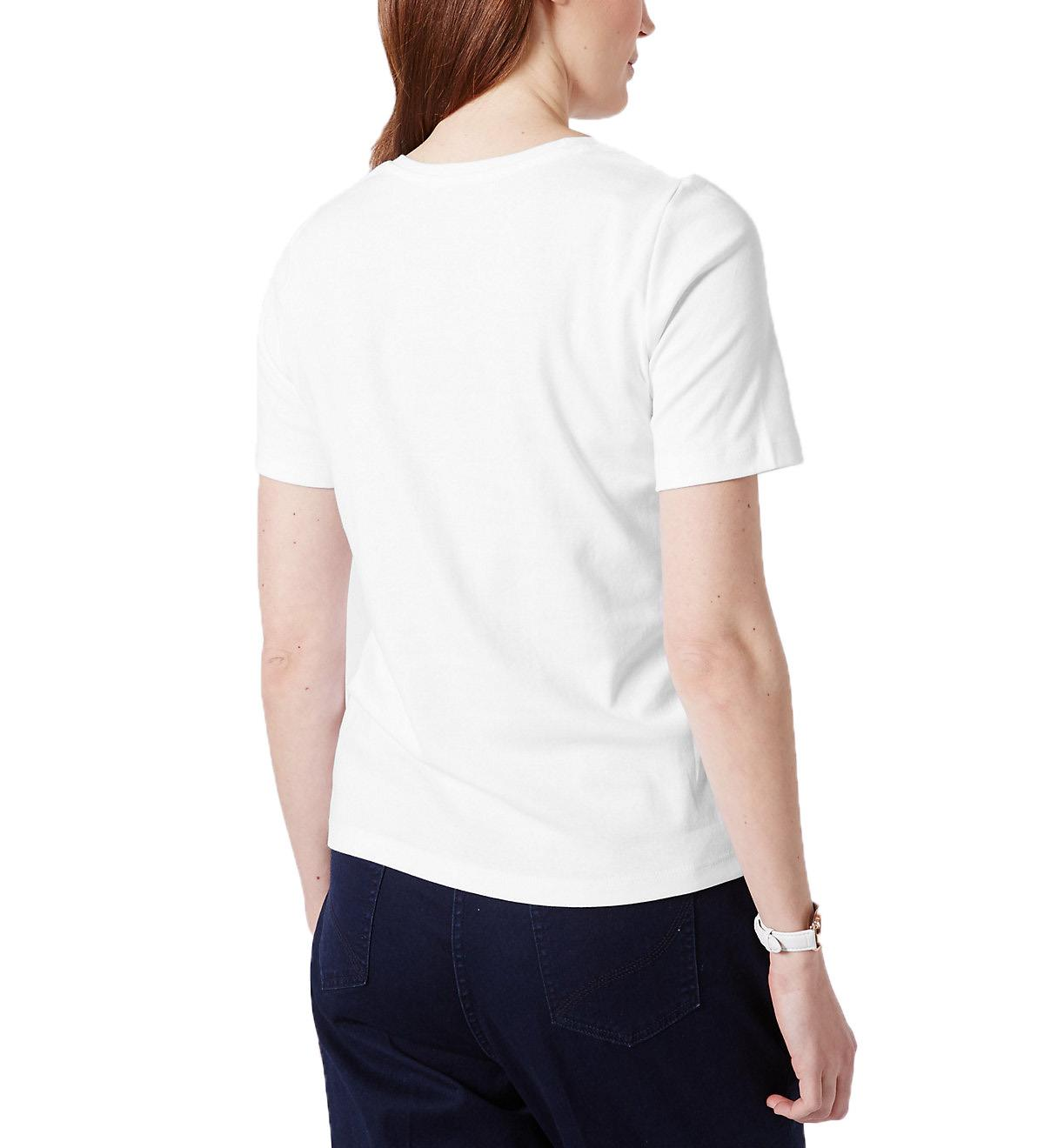 NEW-Ex-M-amp-S-Scoop-Neck-Long-Sleeve-Jersey-Top-Triple-Stitch-Neck-Sizes-8-24 thumbnail 24