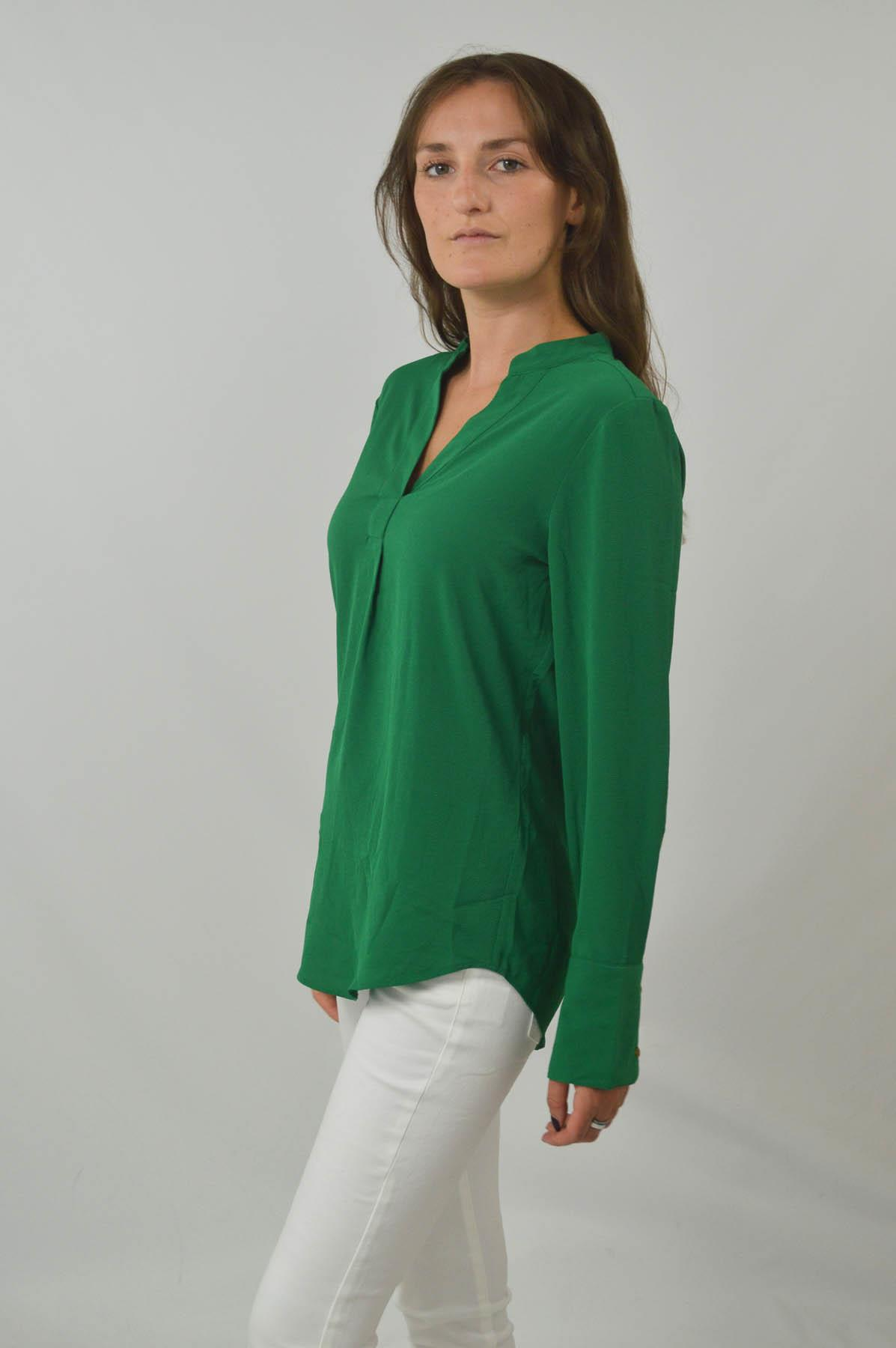 MARKS-amp-SPENCER-Womens-Long-Sleeve-V-Neck-Tunic-Blouse-Size-6-CLEARANCE thumbnail 13