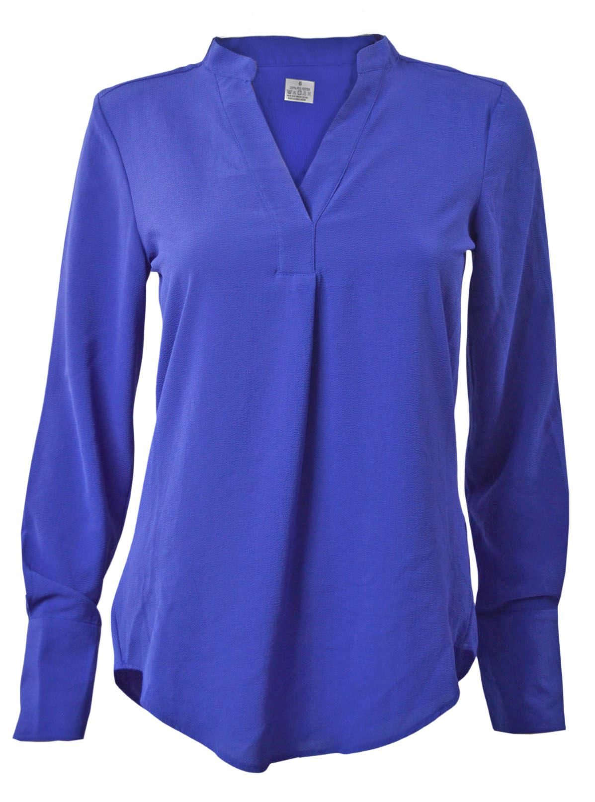 MARKS-amp-SPENCER-Womens-Long-Sleeve-V-Neck-Tunic-Blouse-Size-6-CLEARANCE thumbnail 21