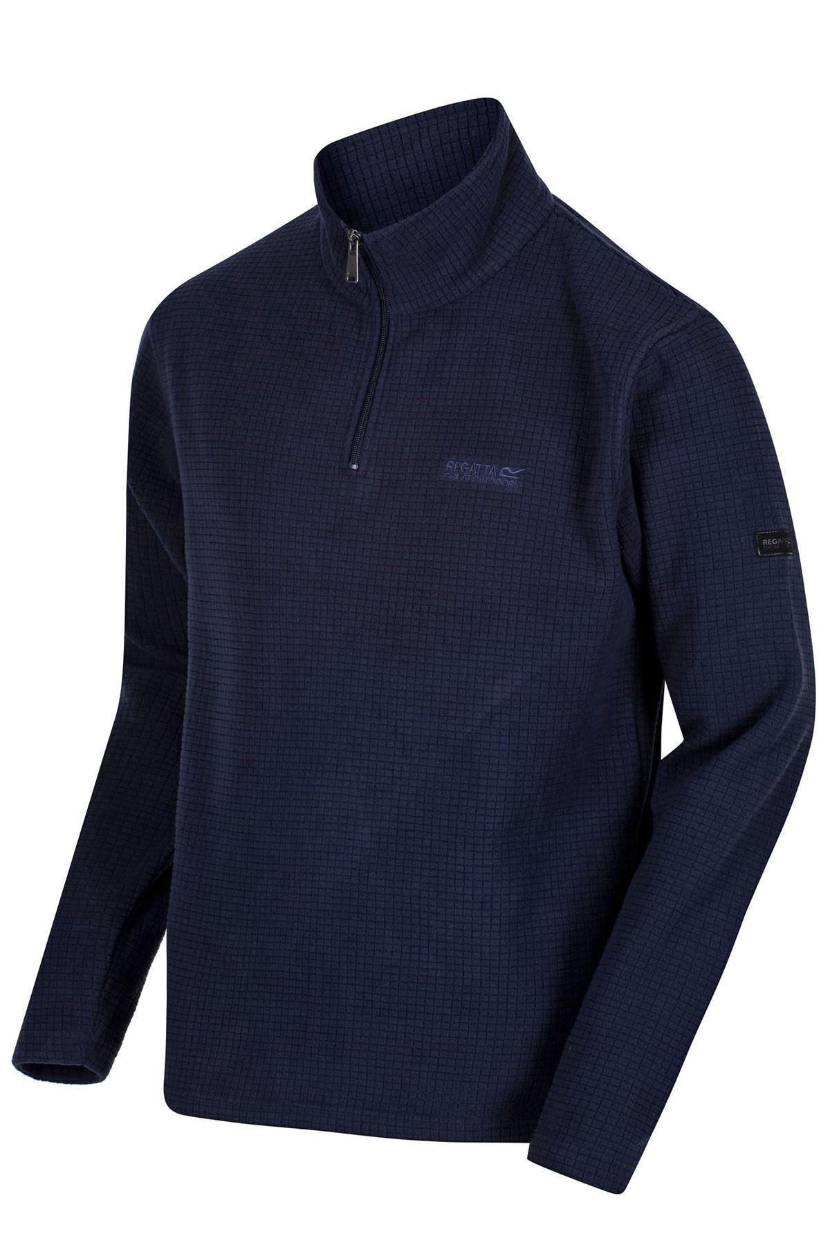 REGATTA-Mens-Half-Zip-Neck-Grid-Textured-Fleece-RRP-30 thumbnail 16