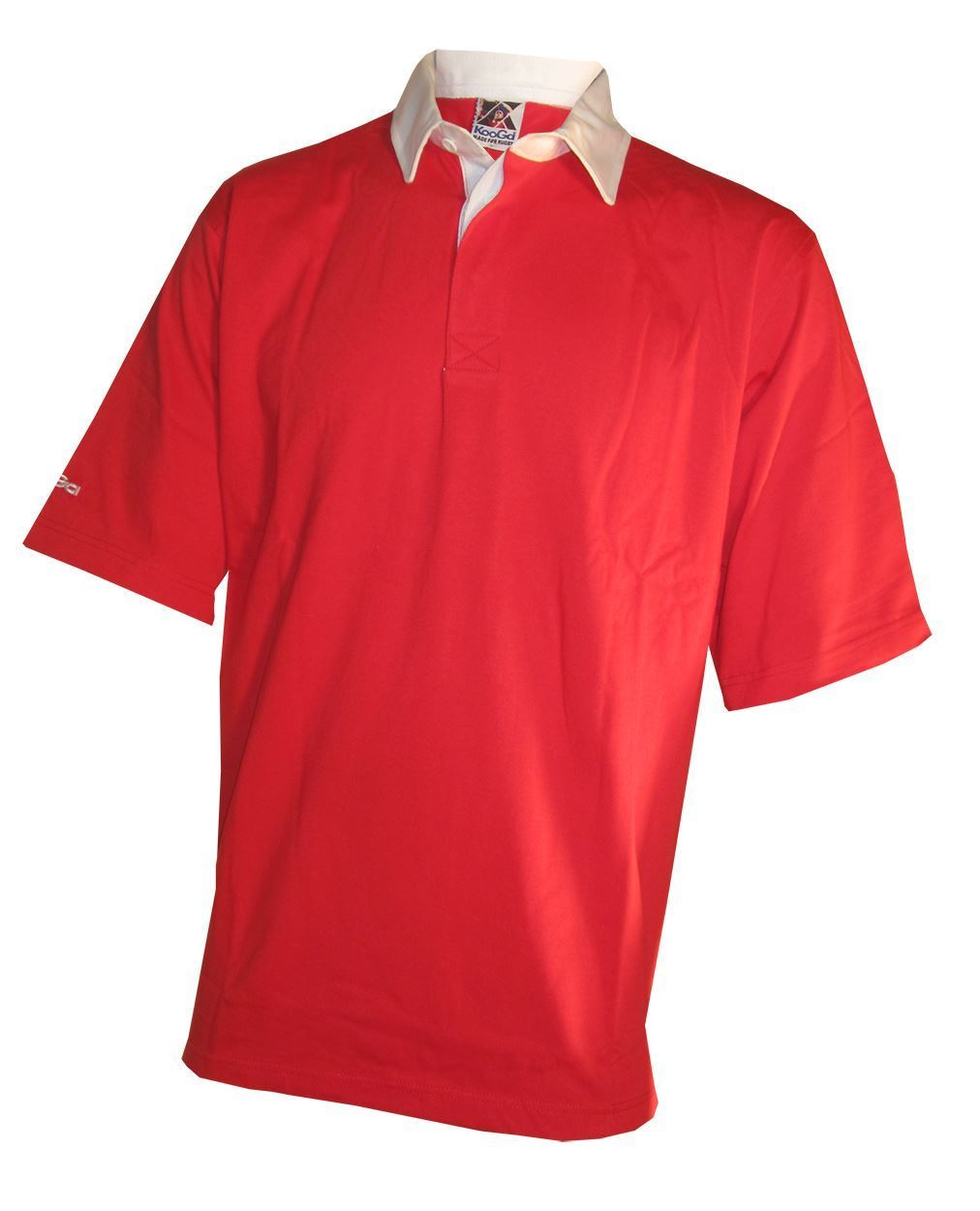 NEW-Kooga-Mens-Polo-Rugby-Shirt-Top-in-Red-or-Green-Size-S-amp-XL thumbnail 7