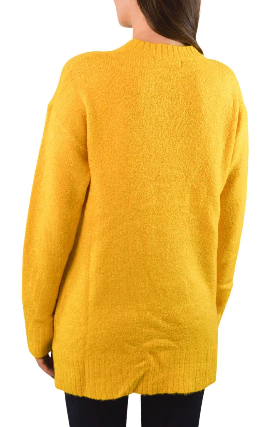 NEW-Ex-M-amp-S-Collection-Ladies-Relaxed-Fit-Round-Neck-Jumper-Pink-Purple-Ochre thumbnail 11