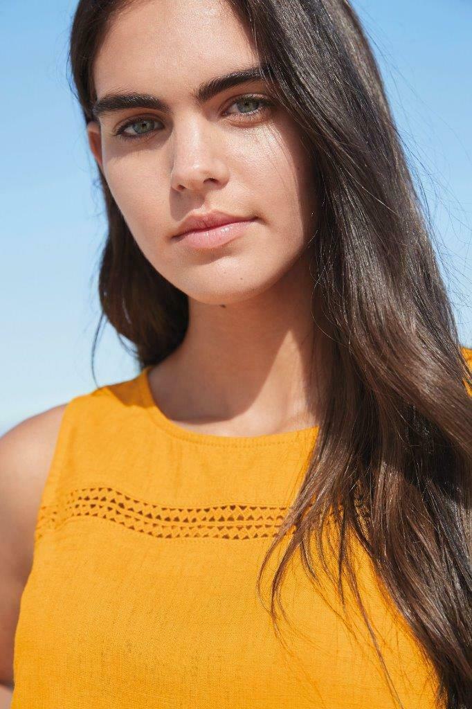NEXT-Womens-Linen-Sleeveless-Boxy-Top-SALE-RRP-18 thumbnail 14