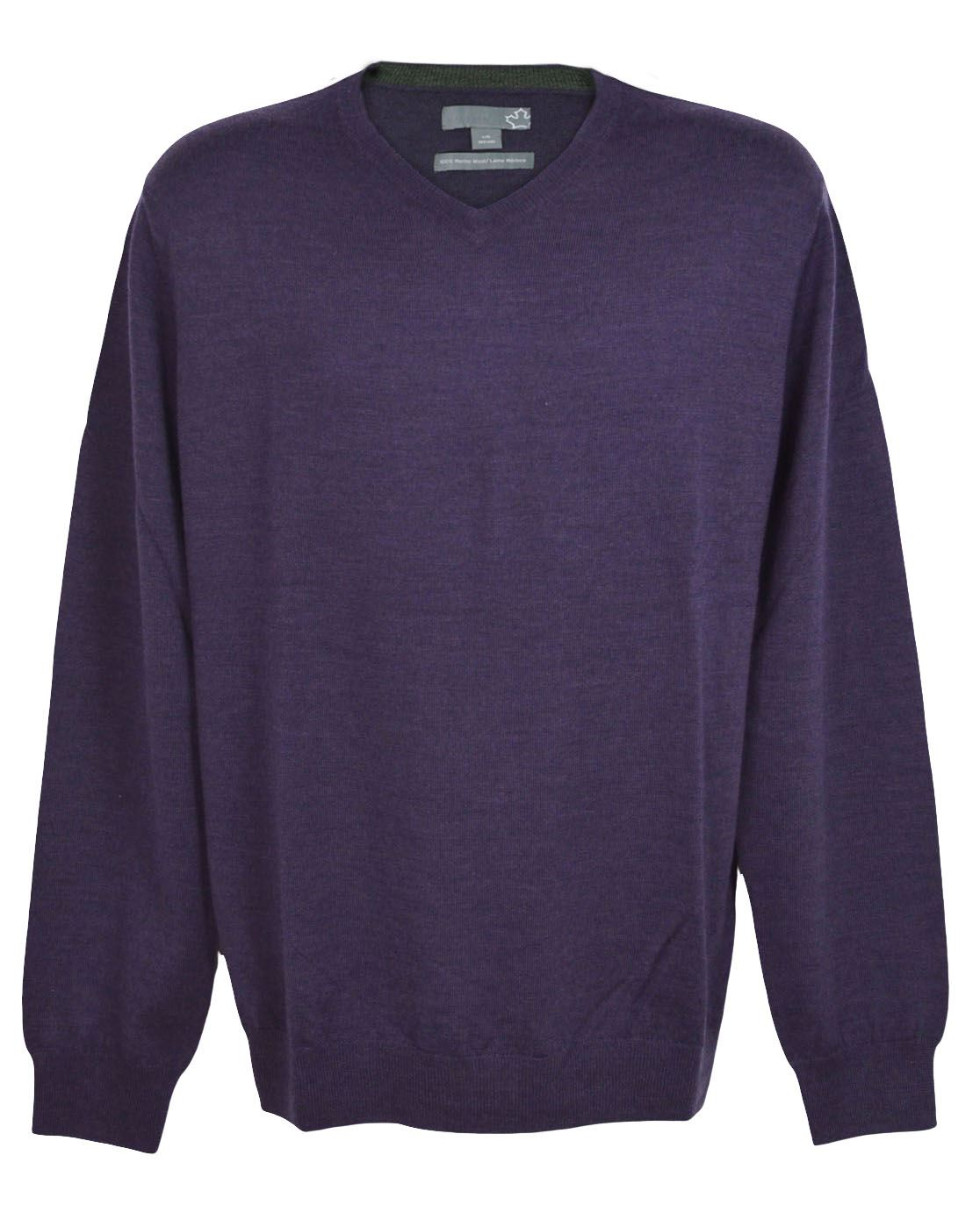 SEARS-Mens-Pure-Merino-Wool-V-Neck-Jumper-Pullover-Super-Quality thumbnail 11
