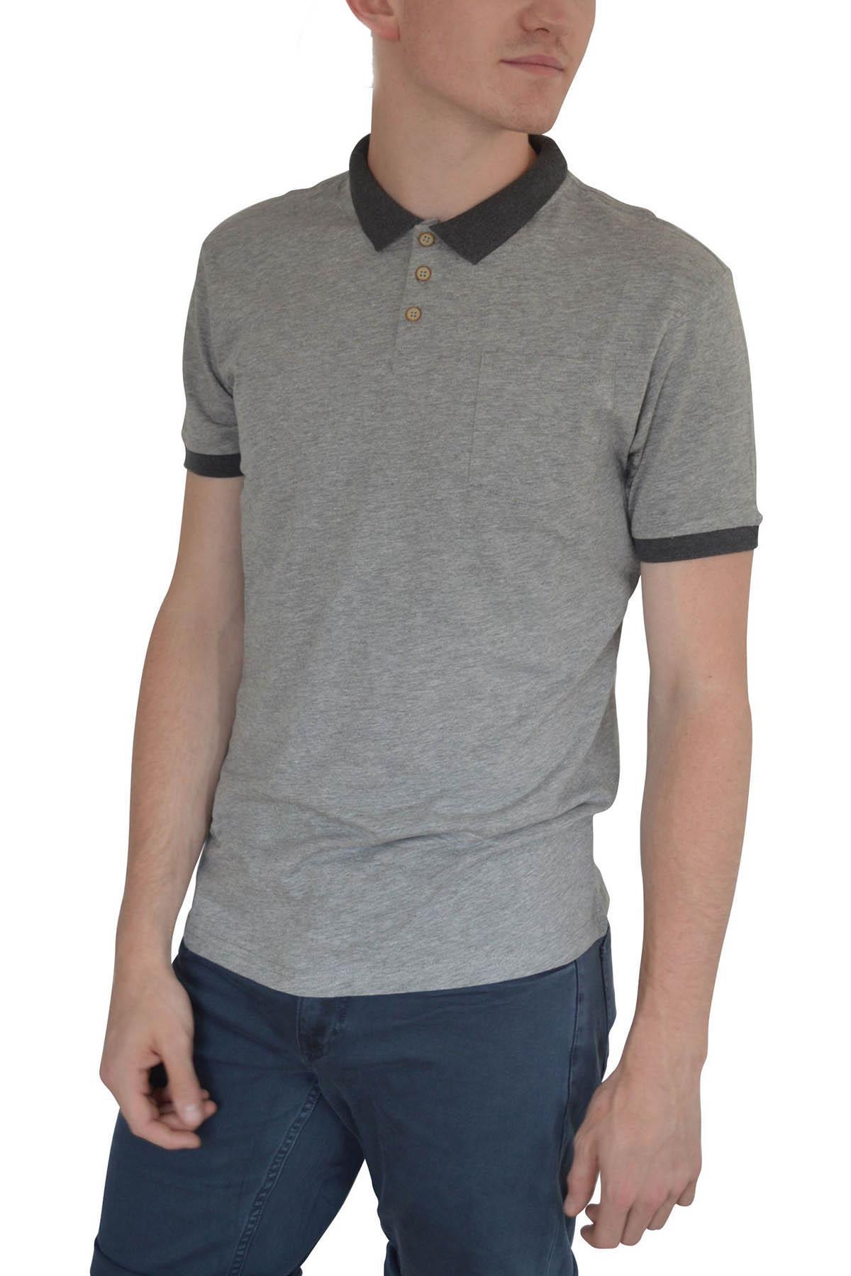 Ex-Mens-H-amp-M-Cotton-Polo-Shirt-Contrast-Collar-Size-S-XXL thumbnail 8