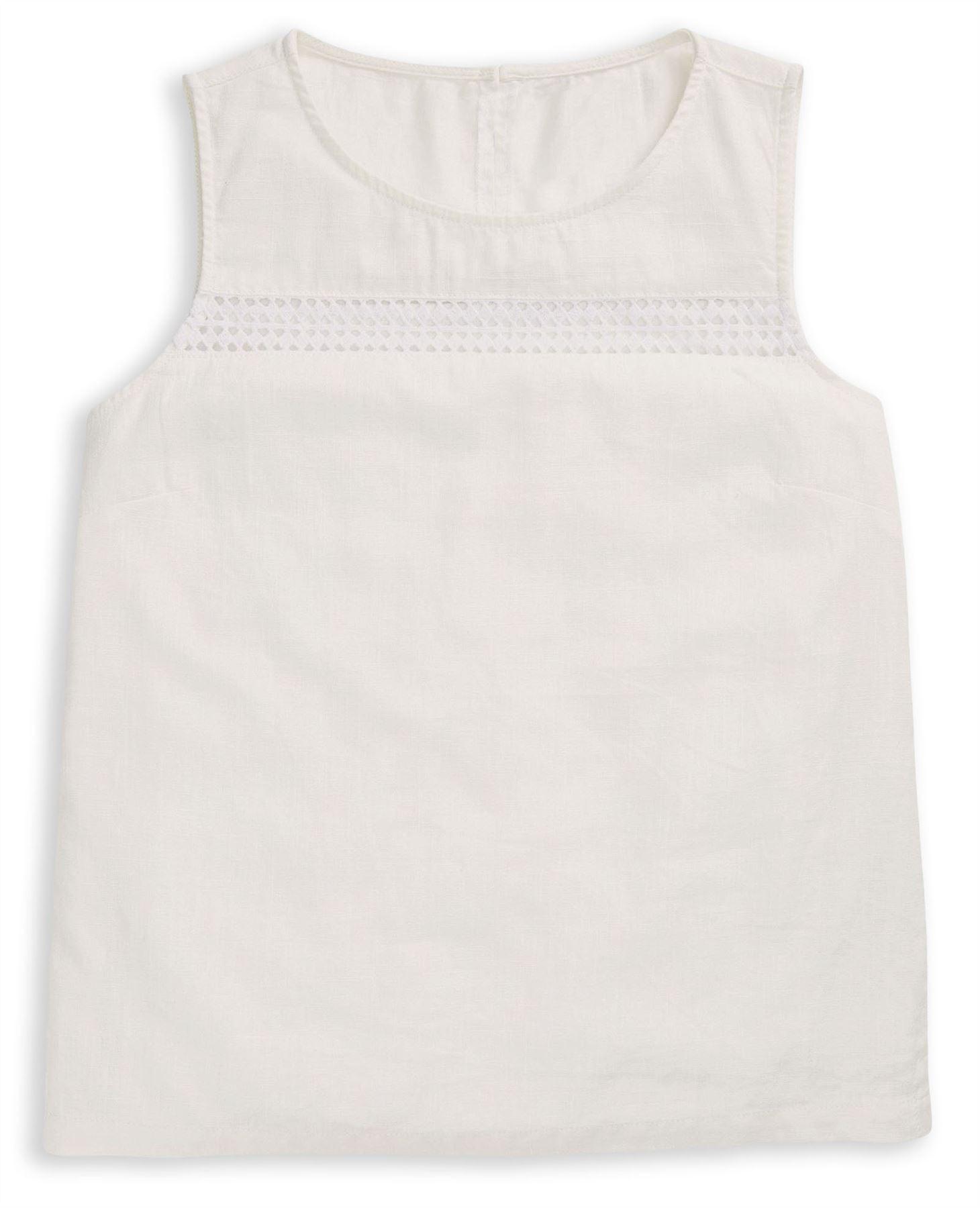 NEXT-Womens-Linen-Sleeveless-Boxy-Top-SALE-RRP-18 thumbnail 25