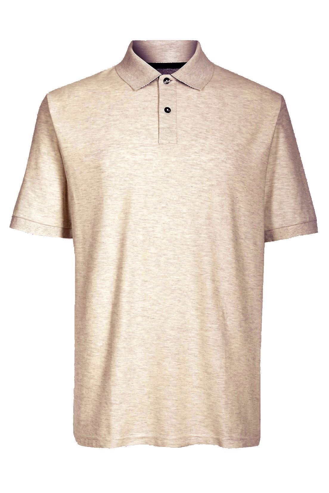 MARKS-amp-SPENCER-Mens-Classic-Cotton-Polo-Shirt-M-amp-S-All-Colours-and-Large-Sizes thumbnail 4