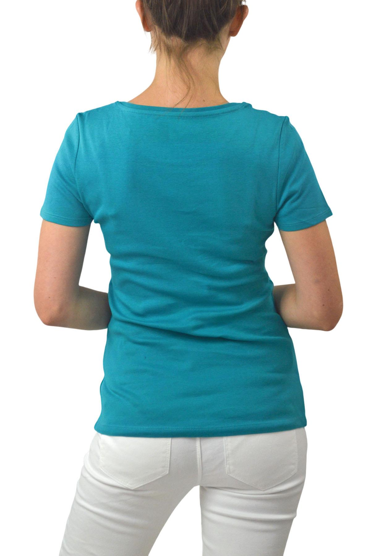 M-amp-S-Ladies-Short-Sleeve-Cotton-T-Shirt-Slim-Fit-Curved-Hem-Size-4-to-24 thumbnail 22