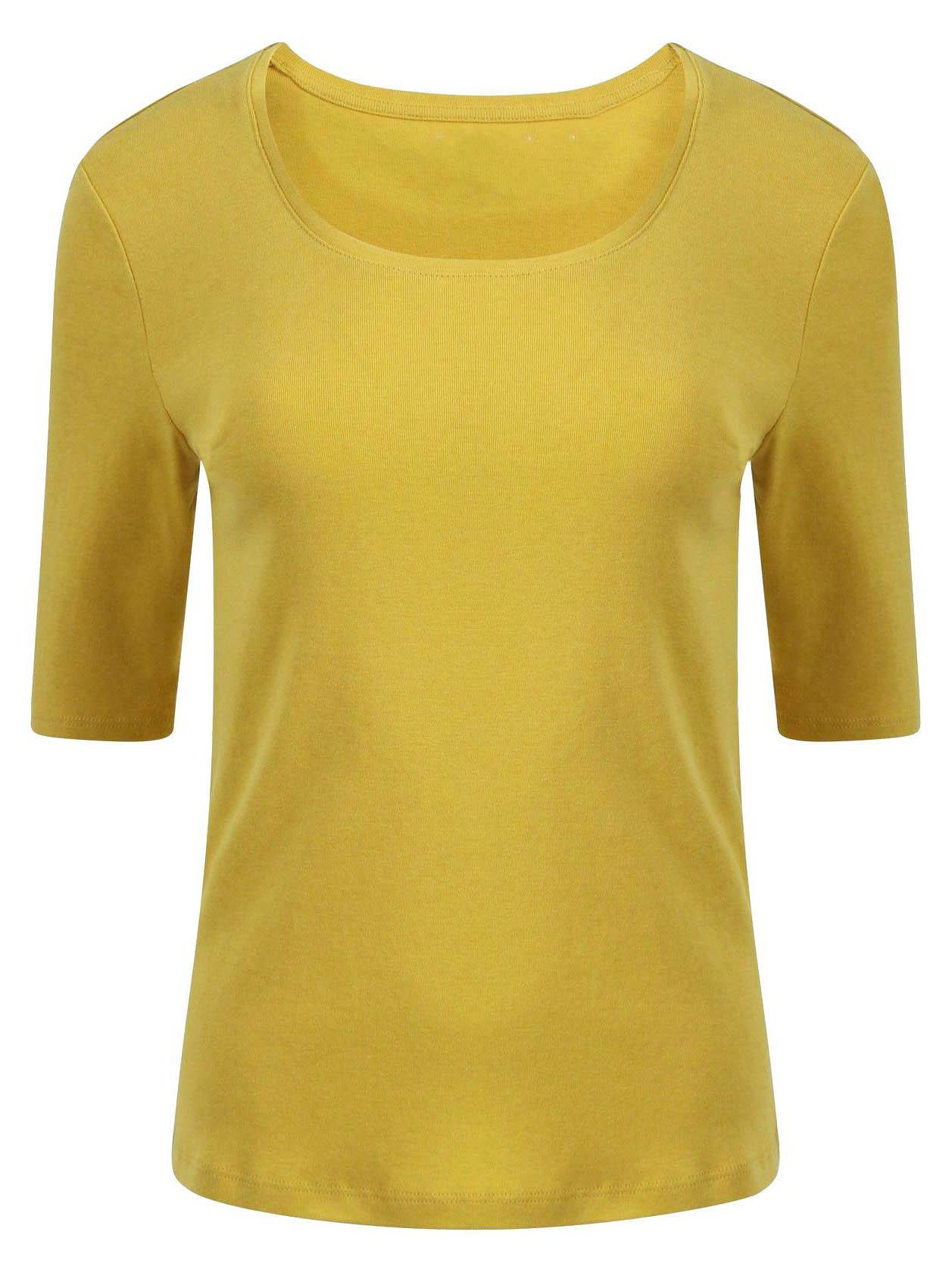 MARKS-AND-SPENCER-Womens-Scoop-Neck-Half-Sleeve-T-shirt-CLEARANCE thumbnail 19