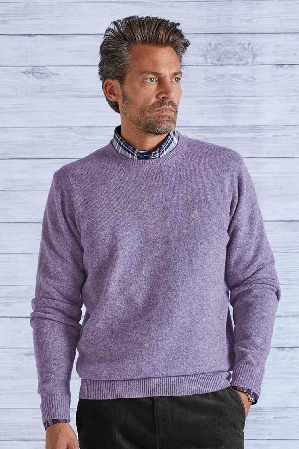 James-Pringle-Wool-Crew-Neck-Mens-Sweater-54-Off thumbnail 3