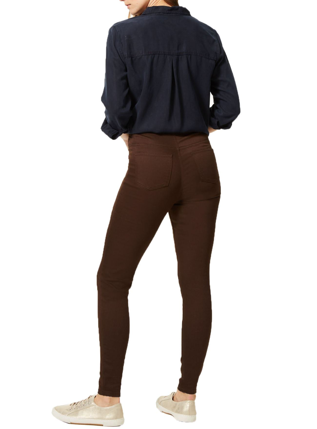 NEW-Ex-M-amp-S-Womens-Stretch-Fit-High-Waist-Skinny-Jeggings-Size-8-10-12-14-16-18 thumbnail 7