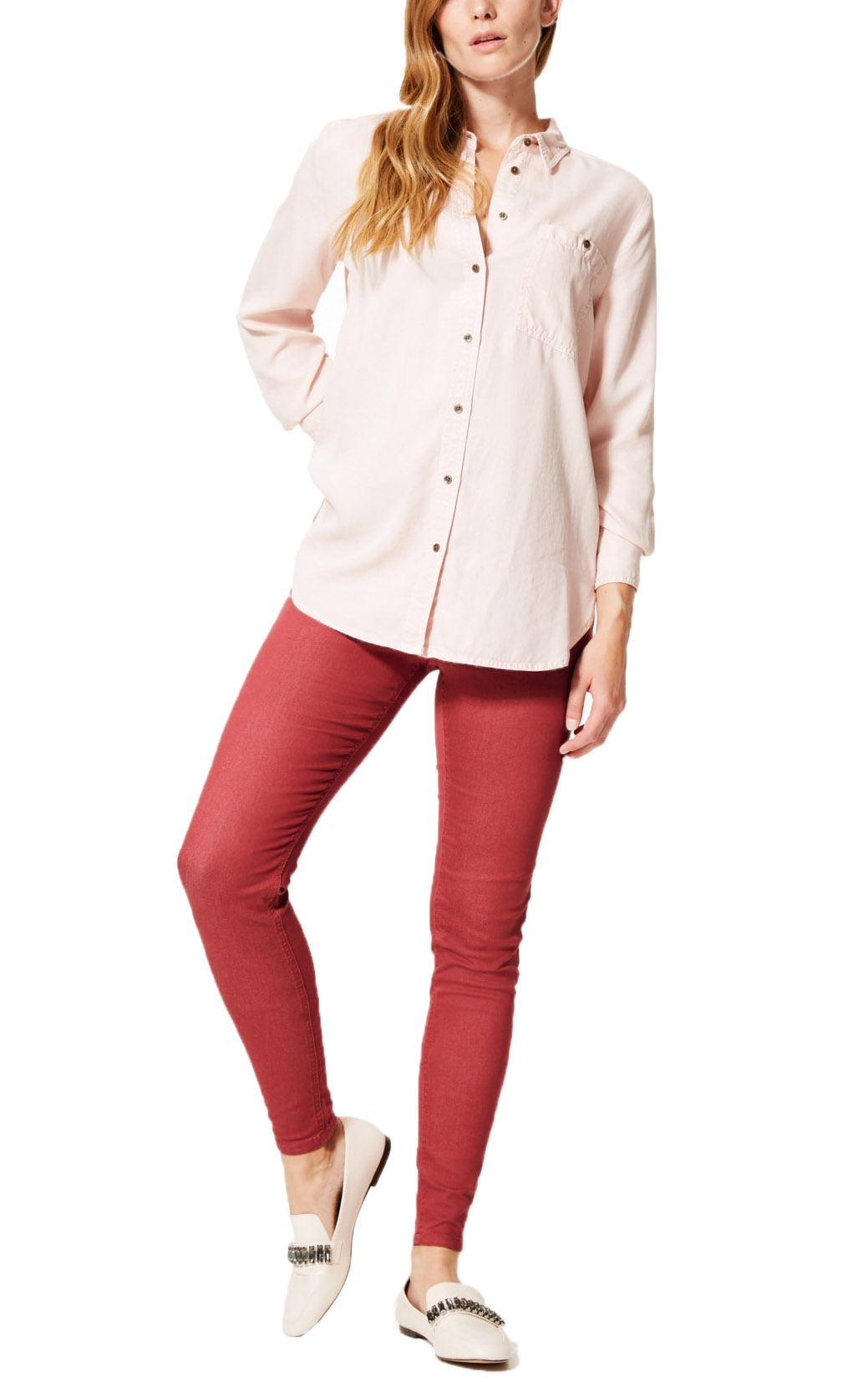 NEW-Ex-M-amp-S-Womens-Stretch-Fit-High-Waist-Skinny-Jeggings-Size-8-10-12-14-16-18 thumbnail 11