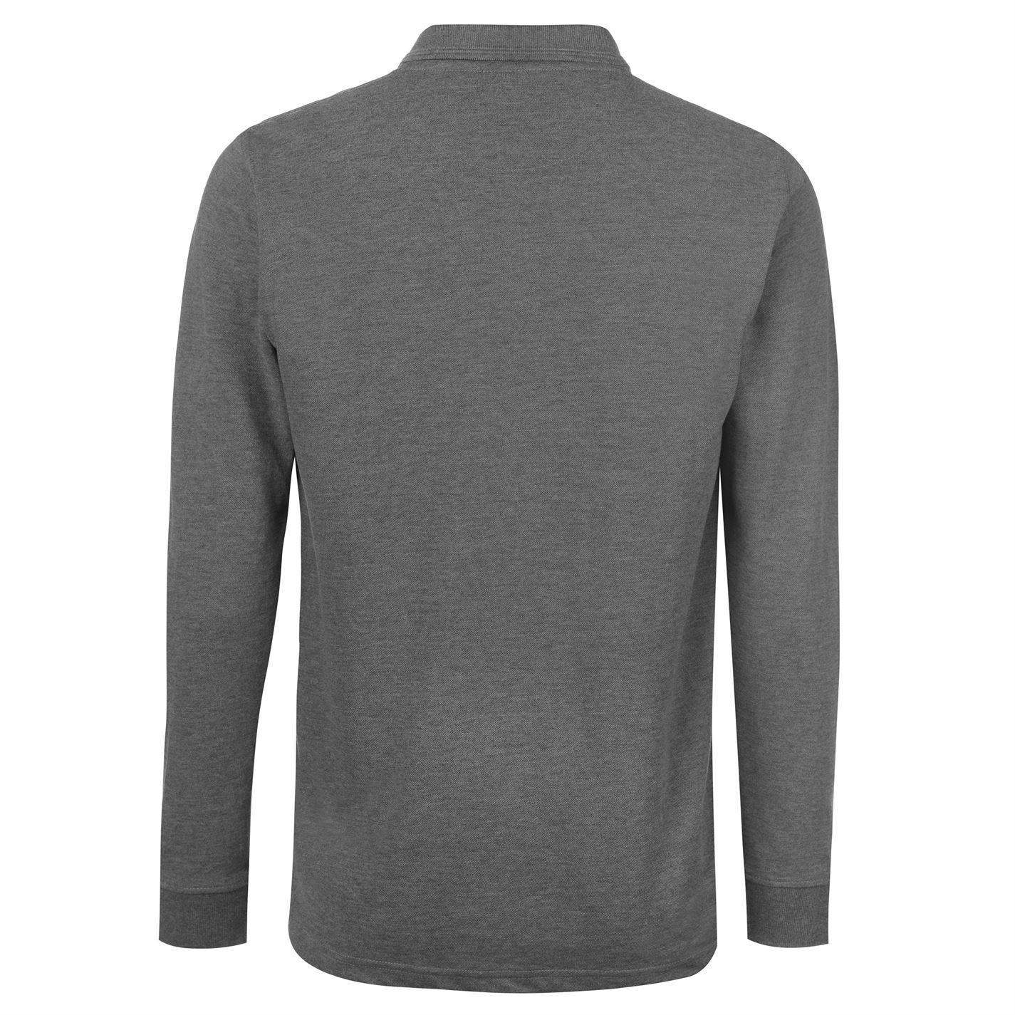 NEW-Pierre-Cardin-Mens-Long-Sleeve-Pure-Cotton-Polo-Shirt-Size-S-M-L-XL-XXL thumbnail 16