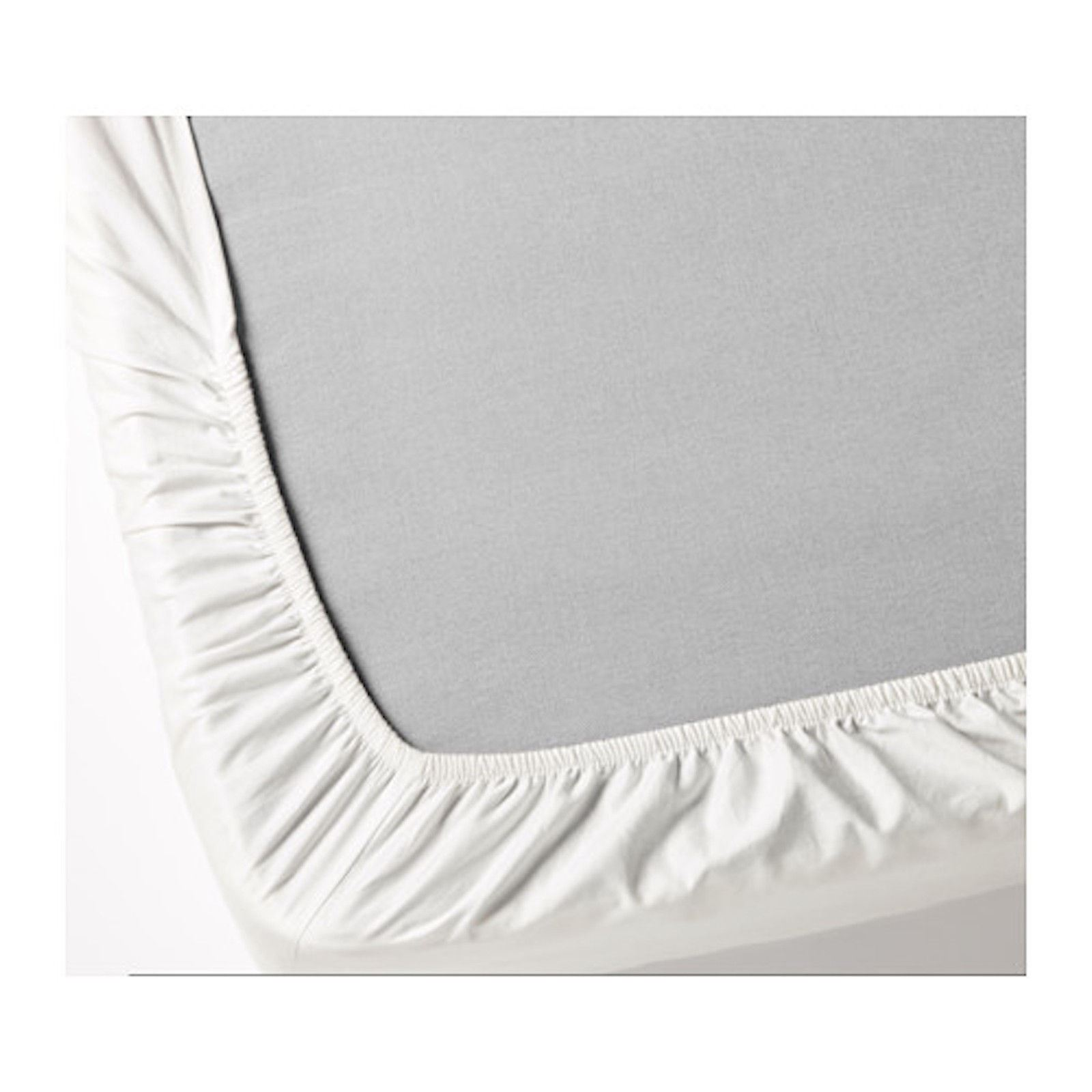IKEA KNOPPA White Bed Single Size Elasticated Long