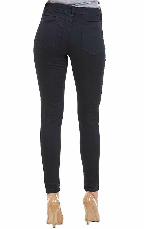 Ex-ZARA-femmes-womans-Jeans-Denim-Stretch-Pantalon-Pantalon-Taille-Tailles-UK-8-18 miniature 4