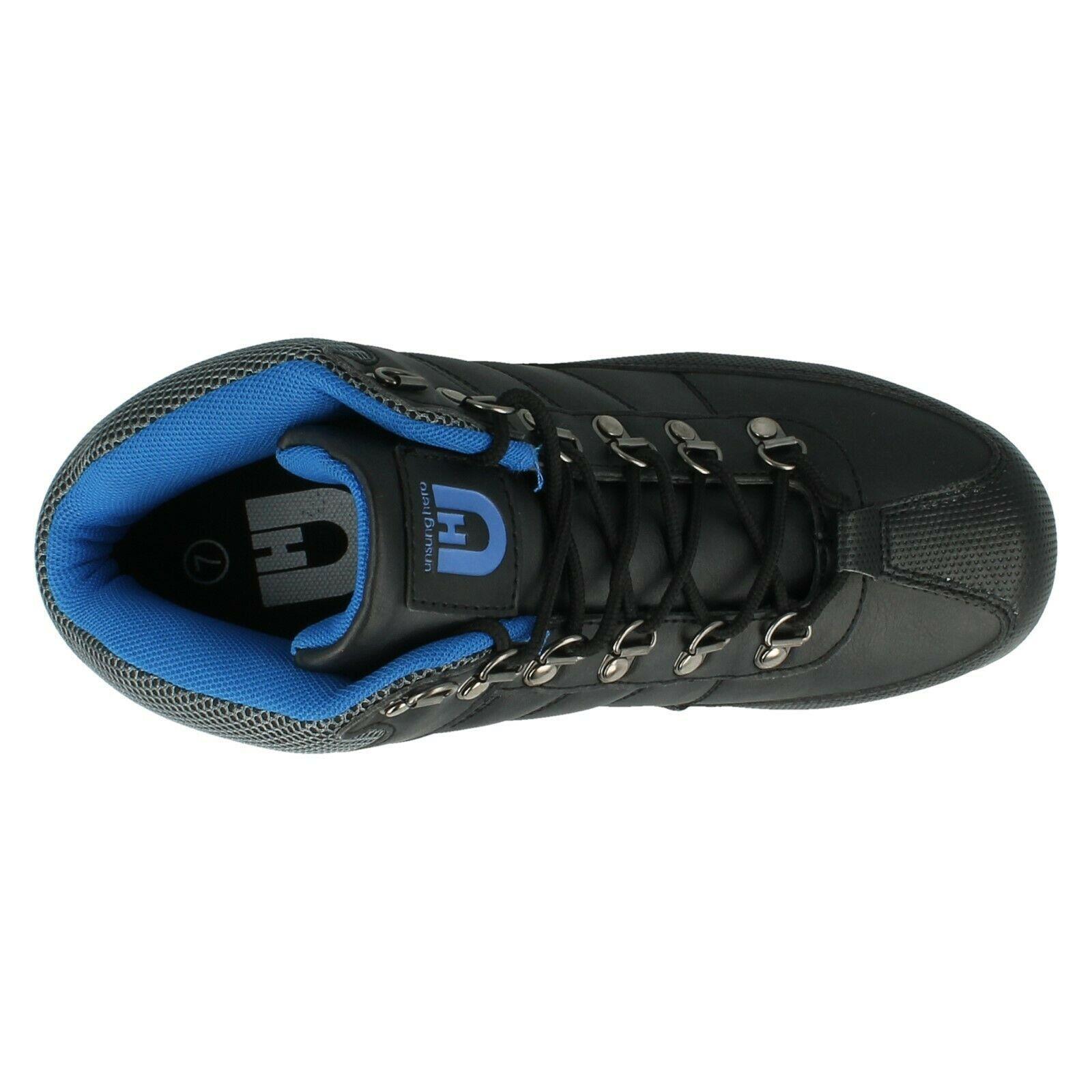 Henleys-unsunghero-Para-hombre-Botas-para-Caminar-Con-Cordones-Zapatos-De-Invierno-Al-Aire-Libre-7 miniatura 22