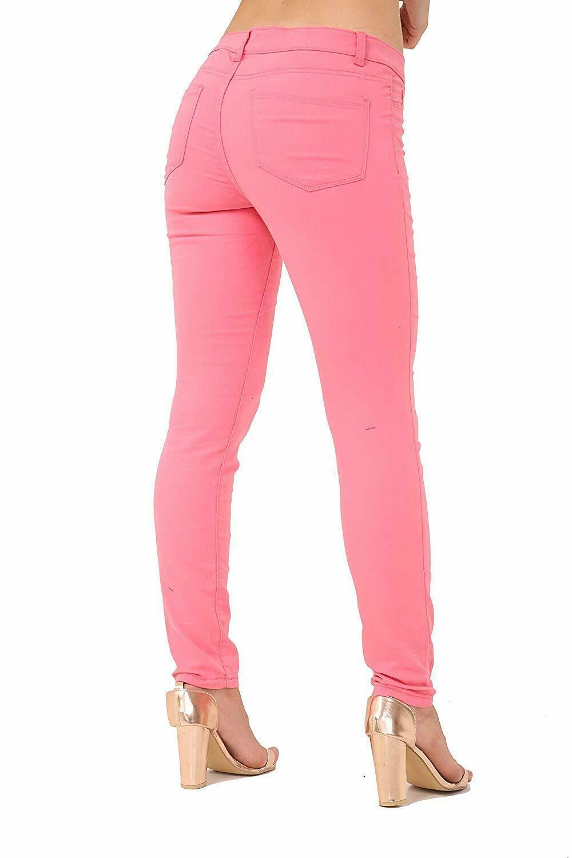 Ex-ZARA-femmes-womans-Jeans-Denim-Stretch-Pantalon-Pantalon-Taille-Tailles-UK-8-18 miniature 14