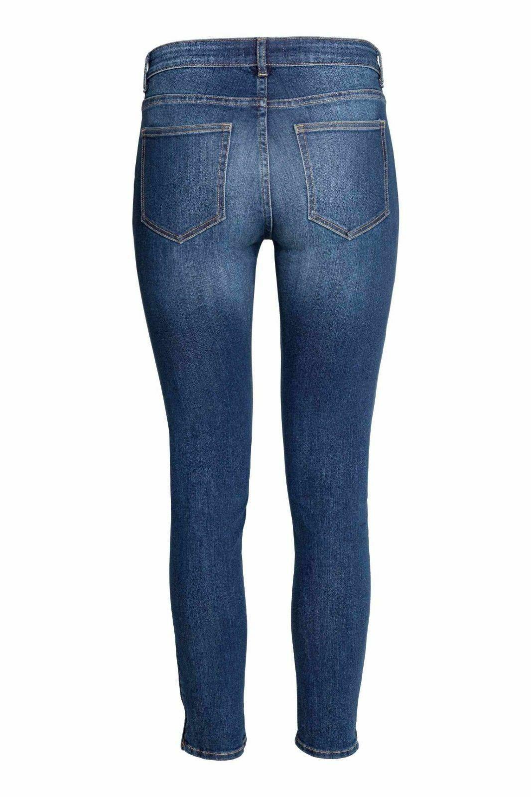 EX-Zara-Ladies-Womans-Jeans-Stretch-Denim-Trousers-Pants-Waist-Sizes-UK-8-18 thumbnail 9