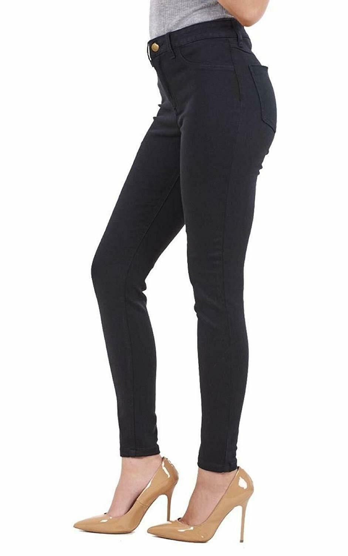 Ex-ZARA-femmes-womans-Jeans-Denim-Stretch-Pantalon-Pantalon-Taille-Tailles-UK-8-18 miniature 3