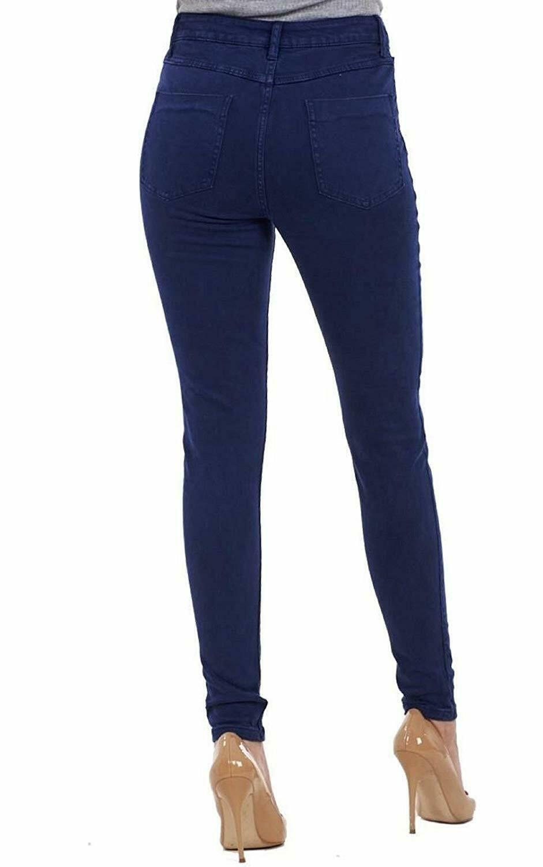 Ex-ZARA-femmes-womans-Jeans-Denim-Stretch-Pantalon-Pantalon-Taille-Tailles-UK-8-18 miniature 12