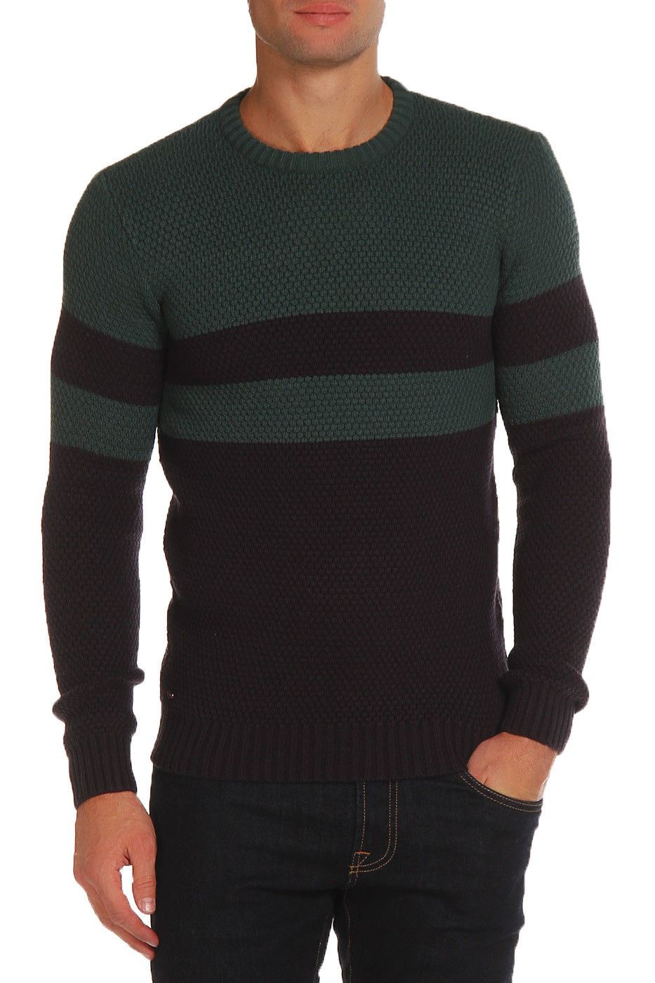 Le-Shark-Designer-Mens-Jumper-Crew-Neck-Wool-Fashion-Knitwear-Sweater thumbnail 9