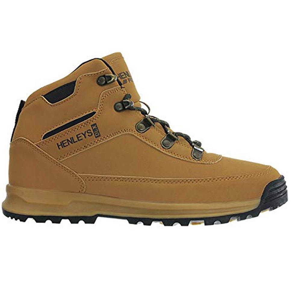 Henleys-unsunghero-Para-hombre-Botas-para-Caminar-Con-Cordones-Zapatos-De-Invierno-Al-Aire-Libre-7 miniatura 6