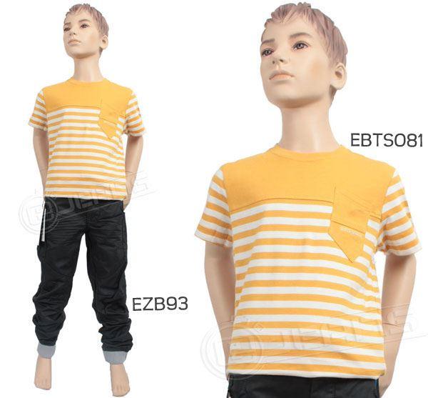 Nouveau-Enzo-Designer-Jean-Garcon-Junior-Kids-cotelee-a-revers-Denim-Jogger-elegant-Pantalon miniature 3