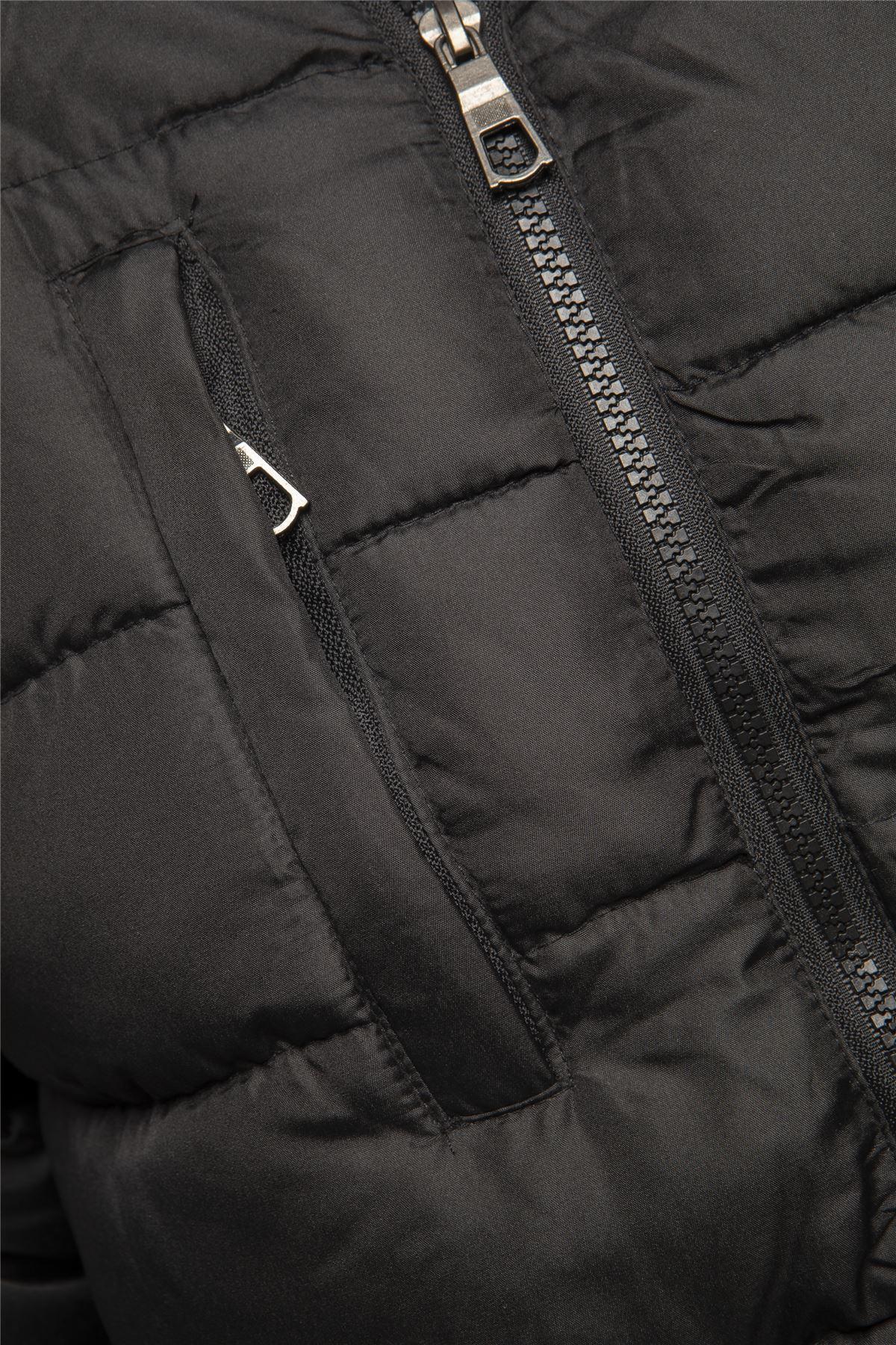 New Mens Winter Warm Jacket Coat Padded SK-DB7 Size S M L XL