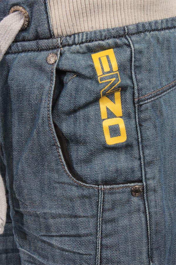 Nouveau-Enzo-Designer-Jean-Garcon-Junior-Kids-cotelee-a-revers-Denim-Jogger-elegant-Pantalon miniature 17