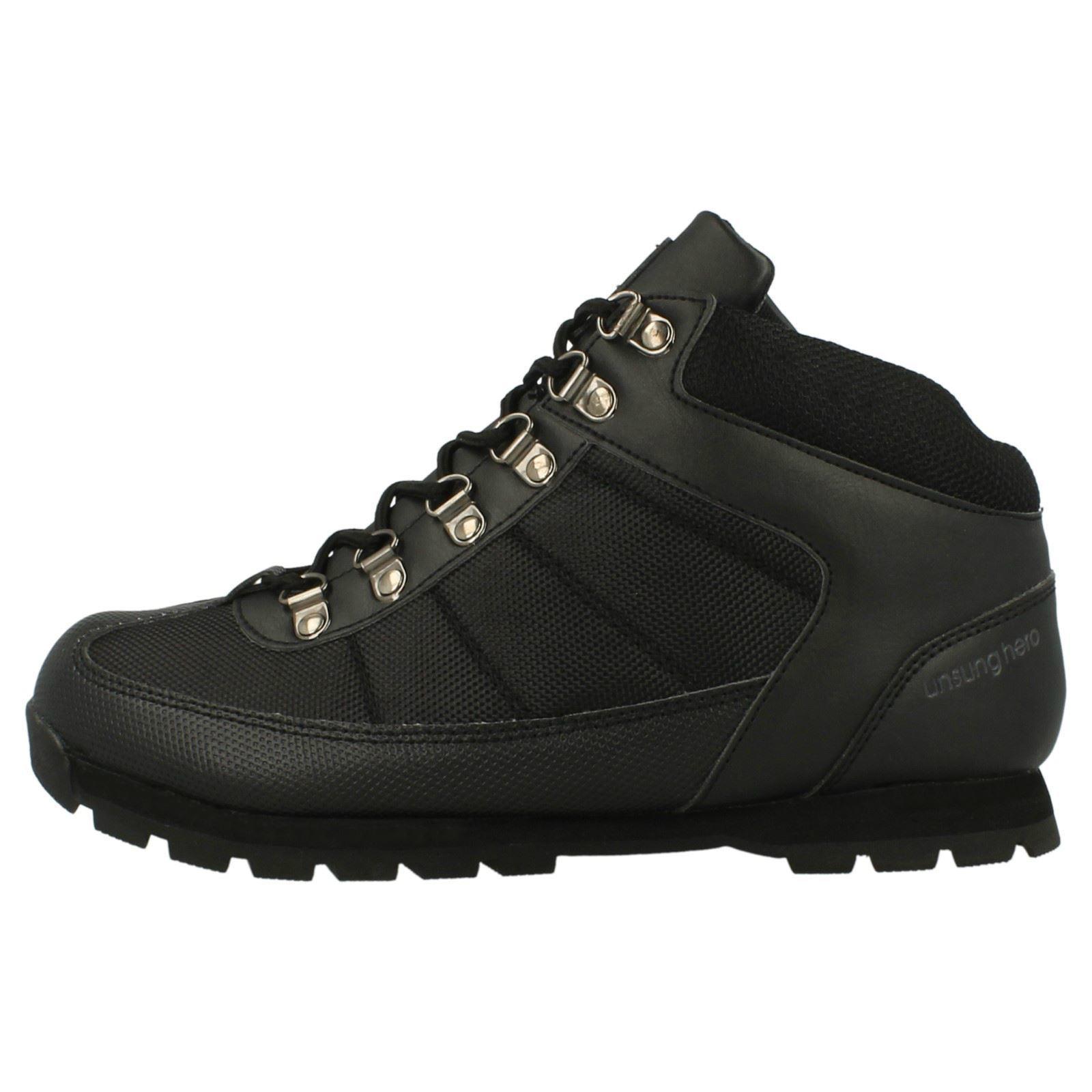 Henleys-unsunghero-Para-hombre-Botas-para-Caminar-Con-Cordones-Zapatos-De-Invierno-Al-Aire-Libre-7 miniatura 10