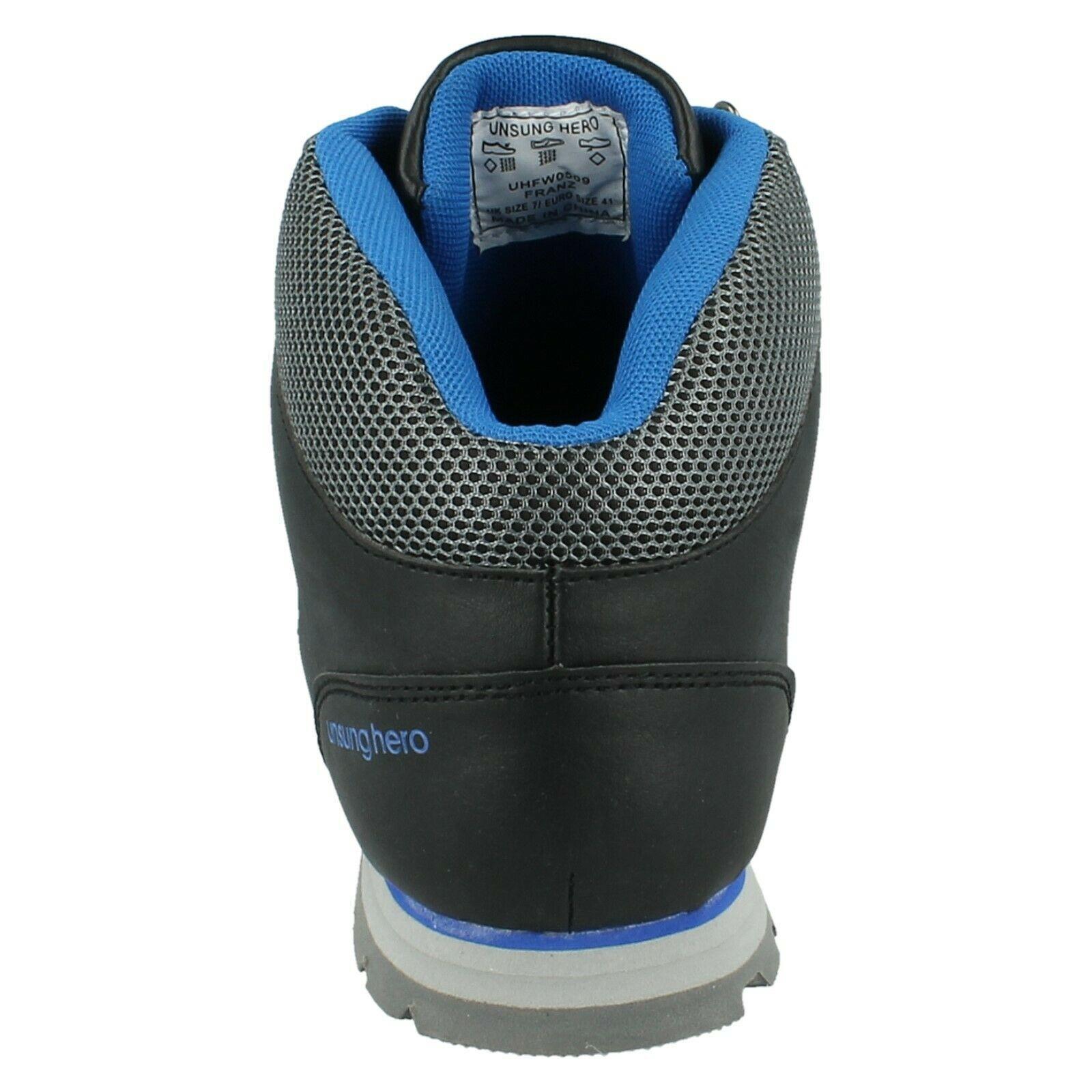 Henleys-unsunghero-Para-hombre-Botas-para-Caminar-Con-Cordones-Zapatos-De-Invierno-Al-Aire-Libre-7 miniatura 20