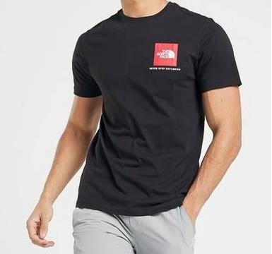 The-North-Face-Mens-TNF-Short-Sleeve-Tee-Cotton-T-Shirt-Crew-Neck-Top thumbnail 32