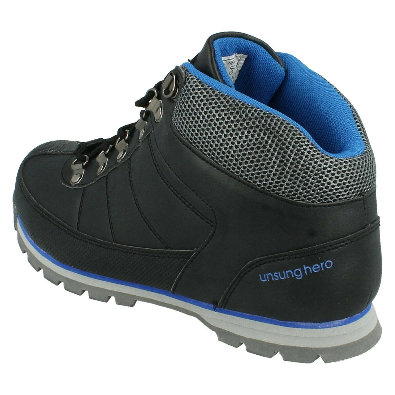 Henleys-unsunghero-Para-hombre-Botas-para-Caminar-Con-Cordones-Zapatos-De-Invierno-Al-Aire-Libre-7 miniatura 18