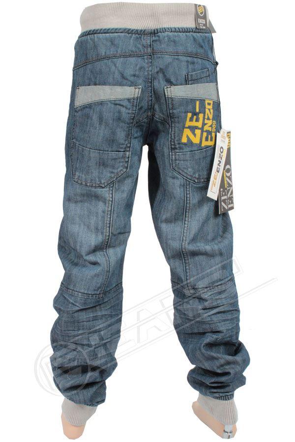 Nouveau-Enzo-Designer-Jean-Garcon-Junior-Kids-cotelee-a-revers-Denim-Jogger-elegant-Pantalon miniature 15