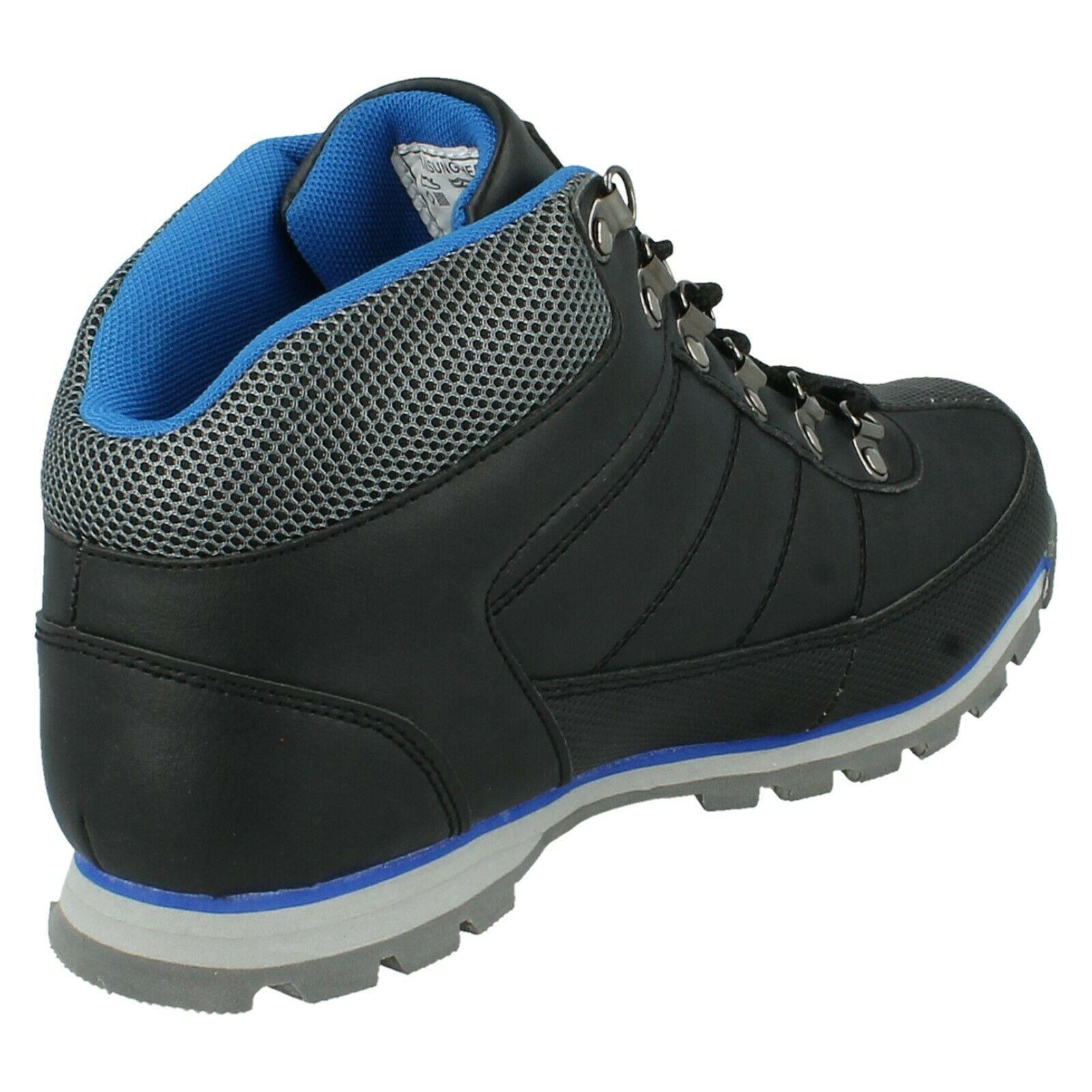 Henleys-unsunghero-Para-hombre-Botas-para-Caminar-Con-Cordones-Zapatos-De-Invierno-Al-Aire-Libre-7 miniatura 19