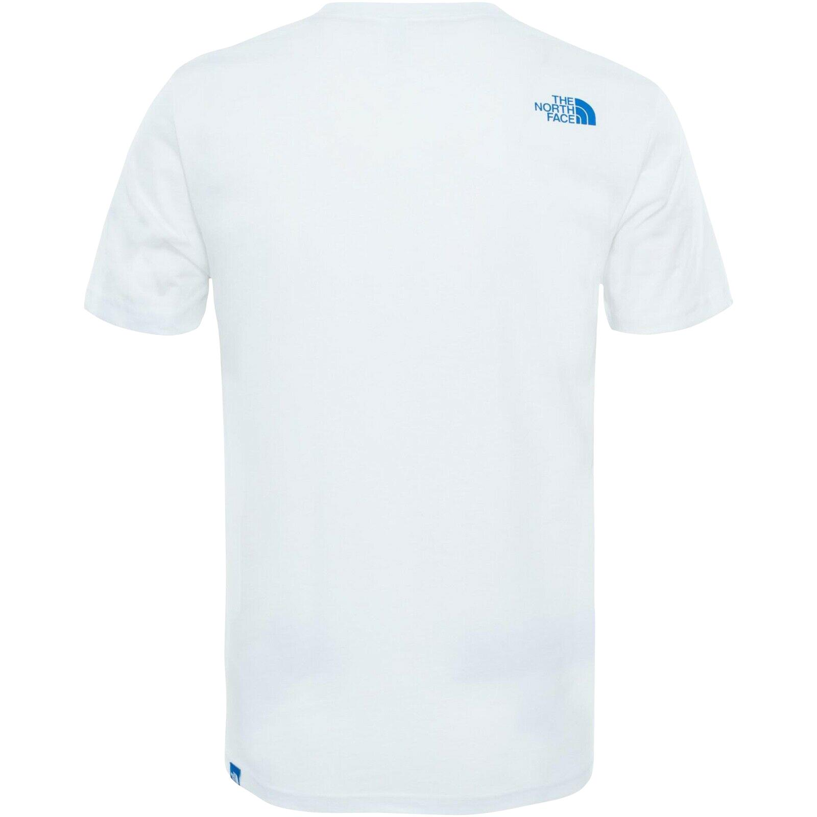 The-North-Face-Mens-TNF-Short-Sleeve-Tee-Cotton-T-Shirt-Crew-Neck-Top thumbnail 23