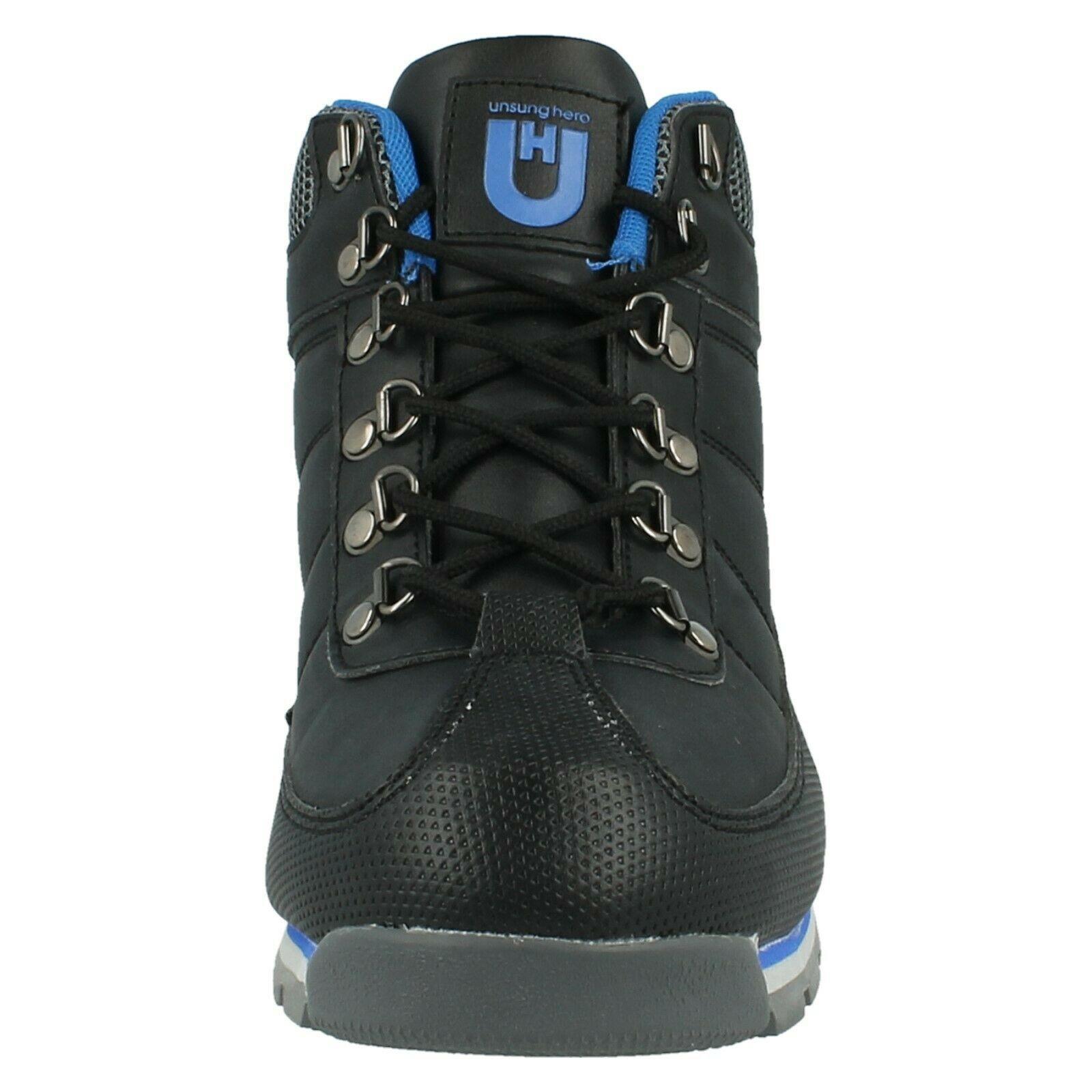 Henleys-unsunghero-Para-hombre-Botas-para-Caminar-Con-Cordones-Zapatos-De-Invierno-Al-Aire-Libre-7 miniatura 21