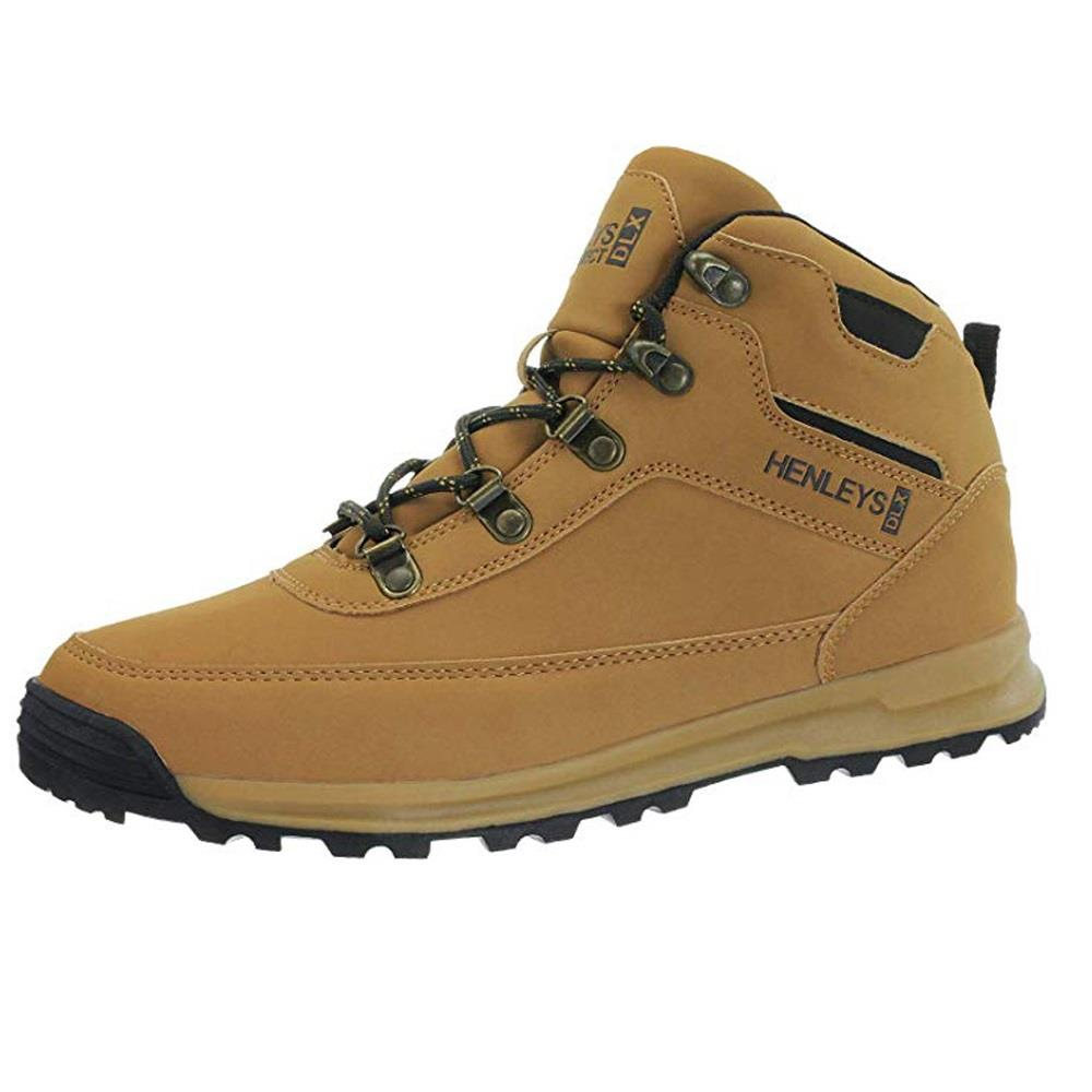 Henleys-unsunghero-Para-hombre-Botas-para-Caminar-Con-Cordones-Zapatos-De-Invierno-Al-Aire-Libre-7 miniatura 7