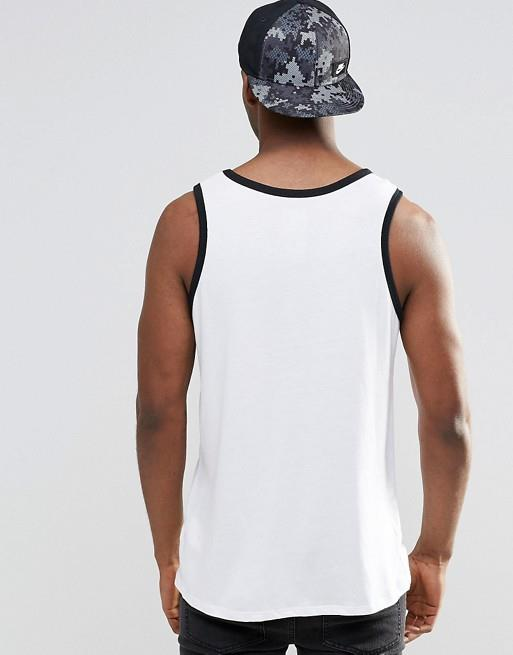 Nike-Pour-Hommes-Debardeur-Logo-Sport-Work-Out-Gym-ACTIVE-WEAR-Debardeur miniature 8