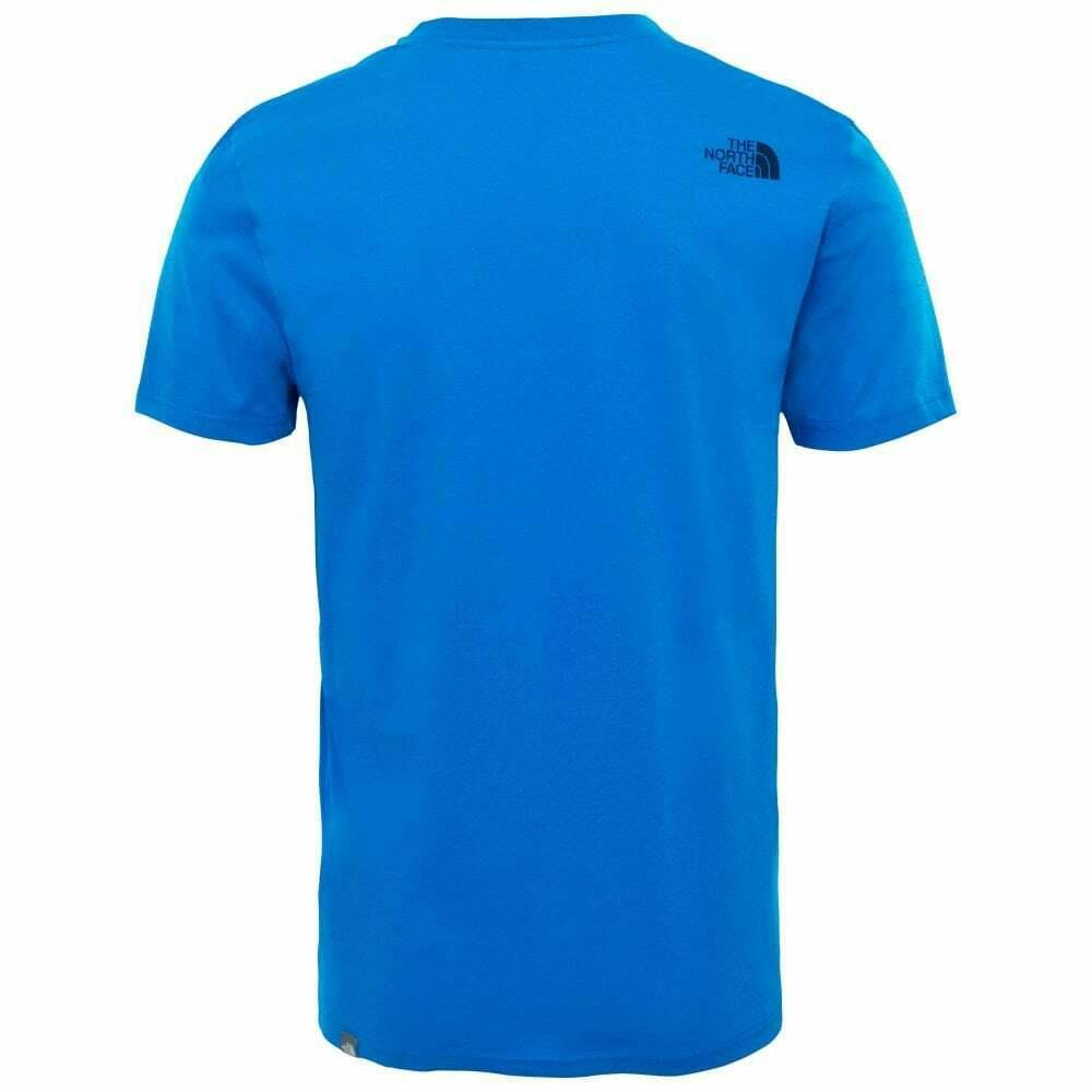 The-North-Face-Mens-TNF-Short-Sleeve-Tee-Cotton-T-Shirt-Crew-Neck-Top thumbnail 5