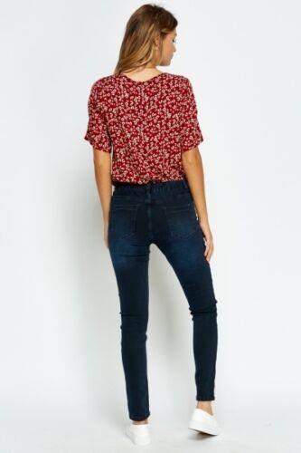 Ex-ZARA-femmes-womans-Jeans-Denim-Stretch-Pantalon-Pantalon-Taille-Tailles-UK-8-18 miniature 7
