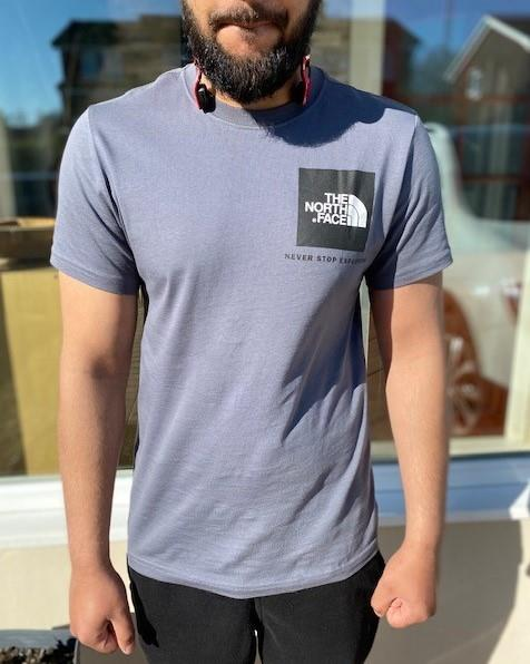 The-North-Face-Mens-TNF-Short-Sleeve-Tee-Cotton-T-Shirt-Crew-Neck-Top thumbnail 36