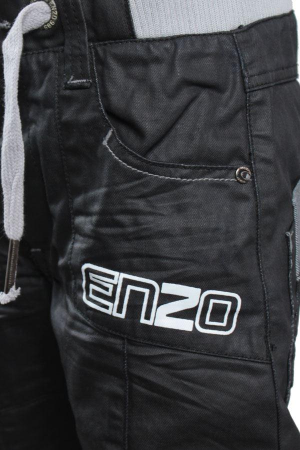 Nouveau-Enzo-Designer-Jean-Garcon-Junior-Kids-cotelee-a-revers-Denim-Jogger-elegant-Pantalon miniature 13