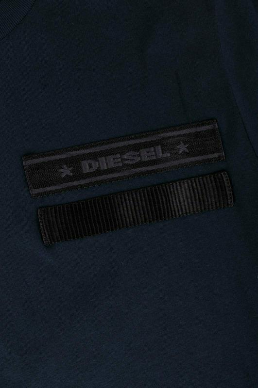 Diesel-Mens-T-Joe-T-Shirt-Black-White-Crew-Neck-Short-Sleeve-Printed-Tee-Top thumbnail 15