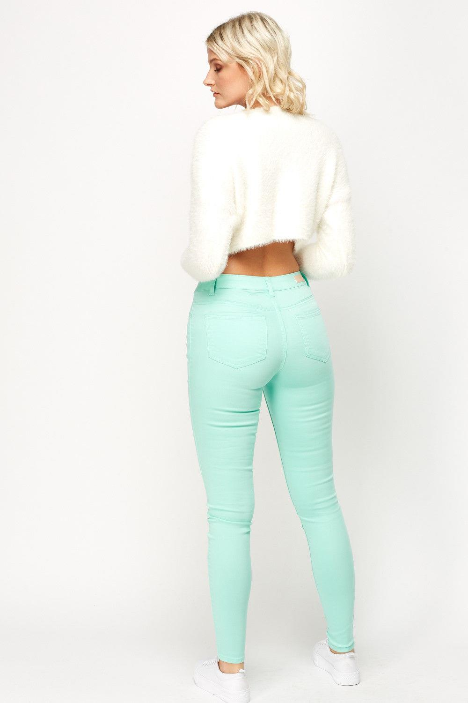 Ex-ZARA-femmes-womans-Jeans-Denim-Stretch-Pantalon-Pantalon-Taille-Tailles-UK-8-18 miniature 16
