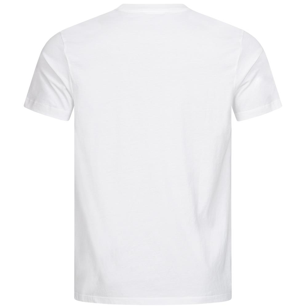 Diesel-Mens-T-Joe-T-Shirt-Black-White-Crew-Neck-Short-Sleeve-Printed-Tee-Top thumbnail 6