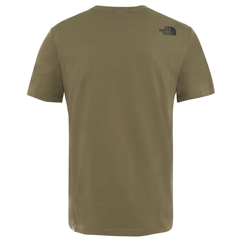The-North-Face-Mens-TNF-Short-Sleeve-Tee-Cotton-T-Shirt-Crew-Neck-Top thumbnail 15