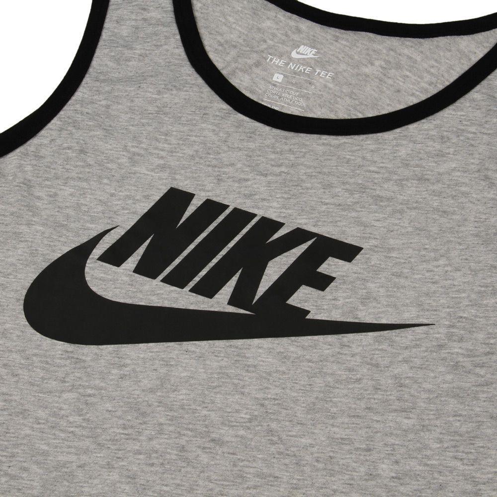 Nike-Mens-Vest-Top-Logo-Sports-Work-Out-Gym-Active-Wear-Tank-Top thumbnail 5
